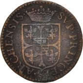 FRENCH STATES, NEVERS & RETHEL, Liard, 1608, Charleville, TB, Cuivre, C2G:280