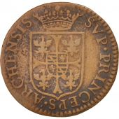 FRENCH STATES, NEVERS & RETHEL, Liard, 1608, Charleville, VF(20-25), KM:12.1