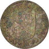 FRENCH STATES, NEVERS & RETHEL, Liard, 1608, Charleville, TB+, Cuivre, C2G:280