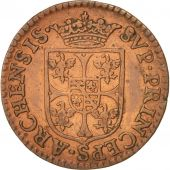 FRENCH STATES, NEVERS & RETHEL, Liard, 1609, Charleville, VF(20-25), KM:12.1