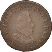 FRENCH STATES, NEVERS & RETHEL, Liard, 1611, Charleville, TB+, Cuivre, C2G:284