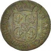 FRENCH STATES, NEVERS & RETHEL, Liard, 1612, Charleville, TB+, Cuivre, C2G:284