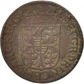 FRENCH STATES, NEVERS & RETHEL, Liard, 1614, Charleville, TTB, Cuivre, C2G:286