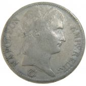 First Empire, 5 Francs Napoléon Ier Laureate Head with Empire Reverse