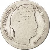 France, Louis-Philippe, Franc, 1840, Lille, VG(8-10), Silver, KM:748.13