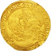 France, Jean II le Bon, Franc � cheval, MS(60-62), Gold, Duplessy:294