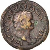 Vespasian, Dupondius, uncertain mint (Comagene?), EF(40-45), Bronze, RIC:756