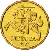 Lithuania, 20 Centu, 1997, FDC, Nickel-brass, KM:107