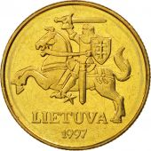 Lithuania, 50 Centu, 1991, SPL+, Nickel-brass, KM:108