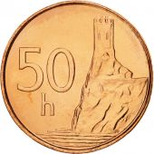 Slovaquie, 50 Halierov, 2004, FDC, Copper Plated Steel, KM:35