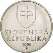 Slovaquie, 5 Koruna, 1995, SPL+, Nickel plated steel, KM:14