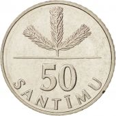 Latvia, 50 Santimu, 1992, FDC, Copper-nickel, KM:13