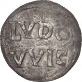 France, Louis the Pious, Obol, Melle, AU(50-53), Silver, Depeyrot:613
