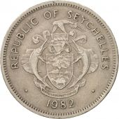 Seychelles, Rupee, 1982, British Royal Mint, EF(40-45), Copper-nickel, KM:50.1
