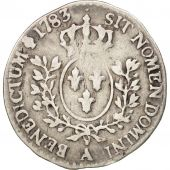 France, Louis XVI, 1/20 �cu, 1783, Paris, VF(20-25), Silver, KM:587