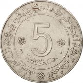 Algeria, 5 Dinars, 1974, Paris, TTB, Nickel, KM:108