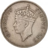 EAST AFRICA, George VI, Shilling, 1950, TTB, Copper-nickel, KM:31