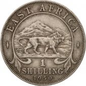 EAST AFRICA, George VI, Shilling, 1950, EF(40-45), Copper-nickel, KM:31