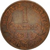 France, Dupuis, Centime, 1911, Paris, TTB+, Bronze, KM:840, Gadoury:90