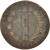 France, Louis XVI, 12 Deniers, 1792, lan 4/3, Rouen, VF(20-25), Gadoury:15