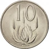 South Africa, 10 Cents, 1978, AU(55-58), Nickel, KM:85
