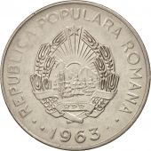 Roumanie, Leu, 1963, SUP, Nickel Clad Steel, KM:90