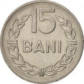 Roumanie, 15 Bani, 1960, SUP, Nickel Clad Steel, KM:87