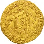 France, Charles VII, Royal dor, Chinon, AU(50-53), Gold, Duplessy:455