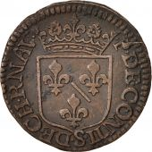 FRENCH STATES, CHATEAU-RENAUD, Liard, 1614, TB+, Cuivre, KM:26.1, C2G:294