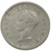 Henri V Pretend, ½ Franc Child Bust