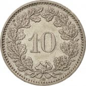 Suisse, 10 Rappen, 1989, Bern, SUP, Copper-nickel, KM:27