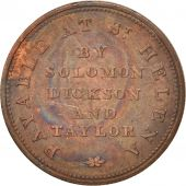 SAINT HELENA & ASCENSION, Halfpenny, 1821, TTB, Cuivre, KM:Tn1