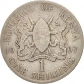 Kenya, Shilling, 1967, VF(20-25), Copper-nickel, KM:5