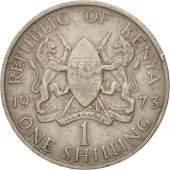 Kenya, Shilling, 1971, VF(20-25), Copper-nickel, KM:14