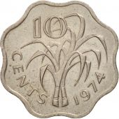 Swaziland, Sobhuza II, 10 Cents, 1974, British Royal Mint, SUP, KM:10
