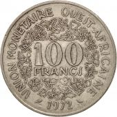 West African States, 100 Francs, 1972, FDC, Nickel, KM:4