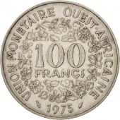 West African States, 100 Francs, 1975, TTB+, Nickel, KM:4