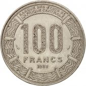 Cameroun, 100 Francs, 1983, Paris, TTB+, Nickel, KM:17