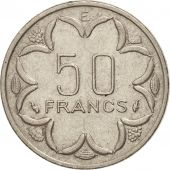 États de lAfrique centrale, 50 Francs, 1977, Paris, TTB, Nickel, KM:11