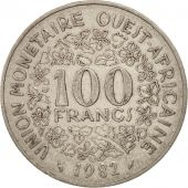 West African States, 100 Francs, 1982, TTB, Nickel, KM:4