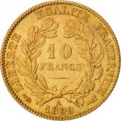 France, C�r�s, 10 Francs, 1899, Paris, AU(50-53), Gold, KM:830, Gadoury:1016