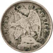 Chile, 5 Centavos, 1921, TTB, Copper-nickel, KM:165