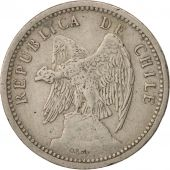 Chile, 20 Centavos, 1939, TTB, Copper-nickel, KM:167.3