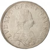 France, Louis XV, �cu Vertugadin, 1716, Toulouse, EF(40-45), Silver, KM:414.13
