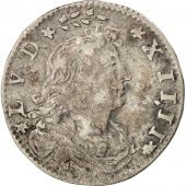 France, Louis XIV, 2 Sols des Traitants, 1674, Paris, TTB, Gadoury:97