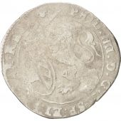 Spanish Netherlands, BRABANT, Escalin, 1623, Brussels, F(12-15), Silver, KM:52.3