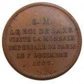 First Empire, Module de 2 Francs Visit of Frédérique Auguste I de Saxe in Paris