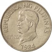 Philippines, 50 Sentimos, 1984, FDC, Copper-nickel, KM:242.1
