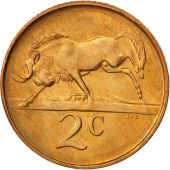 South Africa, 2 Cents, 1989, MS(60-62), Bronze, KM:83