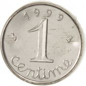 France, Épi, Centime, 1999, Paris, MS(65-70), Stainless Steel, KM:928